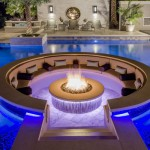 Fire Pit And Water Combination Designs