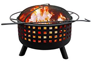 WOOD BURNING LANDMANN SAVANNA FIRE PIT