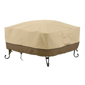 classic accessories 36 square fire pit cover