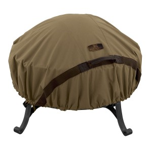 classic accessories 44 round hickory fire pit cover
