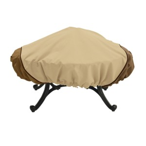 classic accessories 44 round veranda fire pit cover