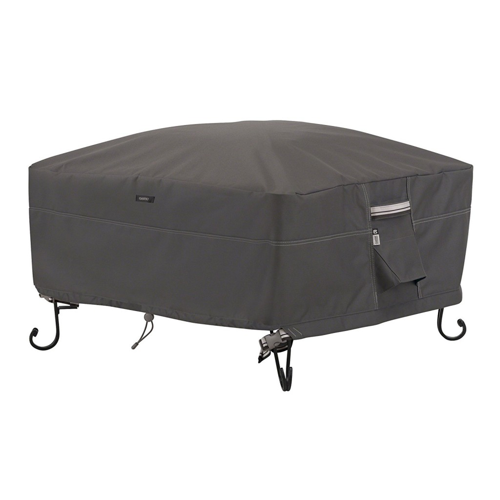 classic accessories ravenna 36 square fire pit cover