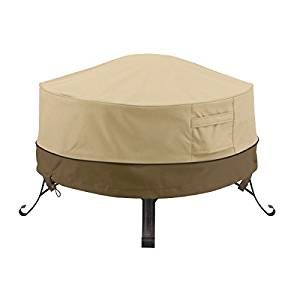 classic accessories round veranda fire pit cover