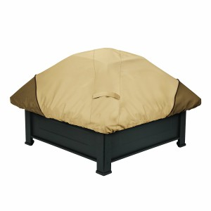 classic accessories square fire pit cover