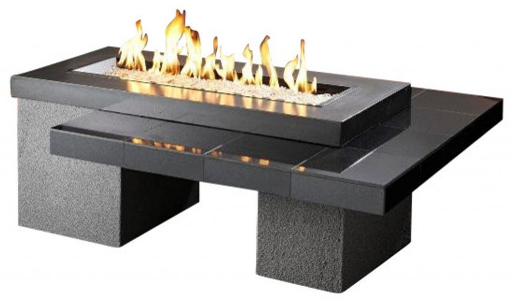 Outdoor Greatroom Uptown Gas Fire Pit