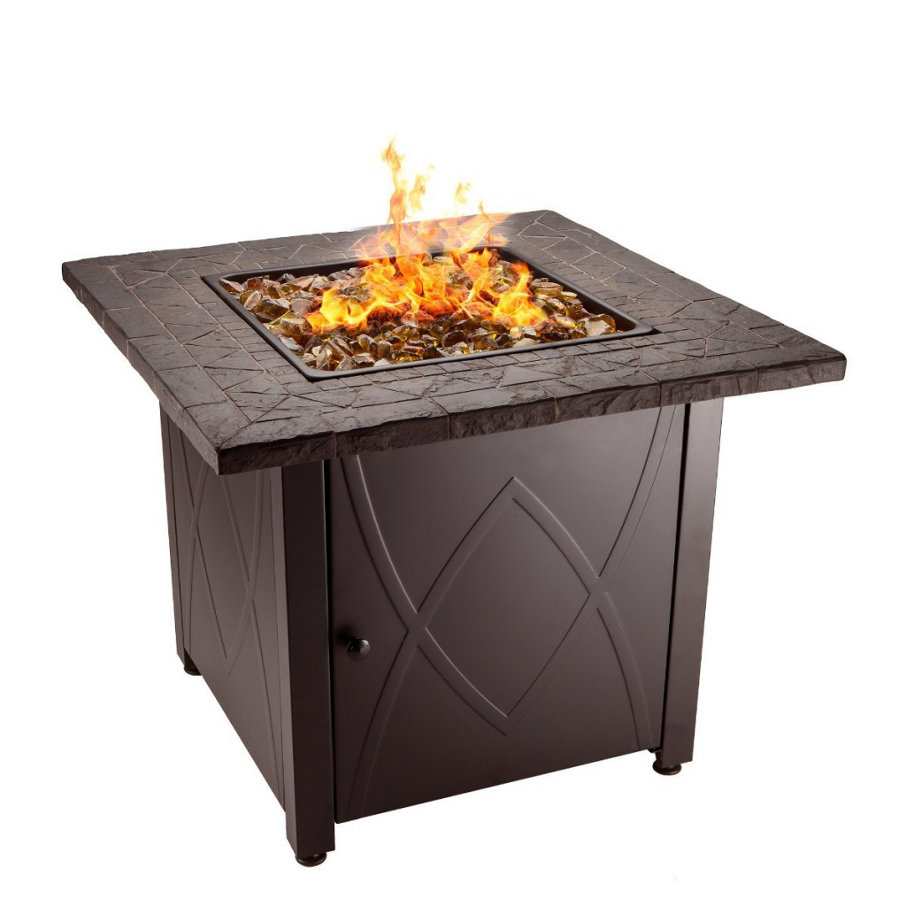 Blue Rhino Outdoor Propane Gas Fire Pit Table