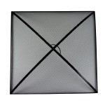 Square Fire Pit Screens-Square Fire Pit Screen Replacement