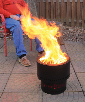Flame Genie Portable Wood Pellet Fire Pit Review Outdoor Fire Pits Fireplaces Grills