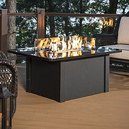 outdoor greatroom fire pit table