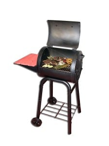 control heat temperatures in charcoal grill