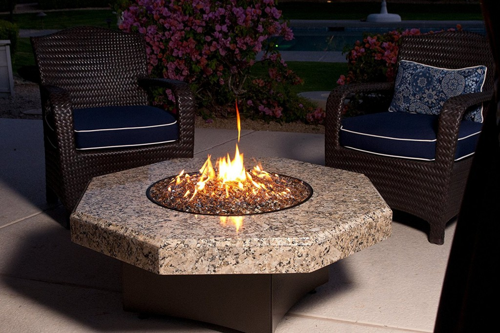 best luxury gas fire pit tables